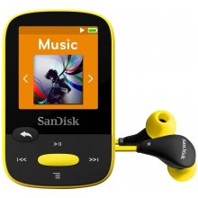 SanDisk SANSA CLIP SPORTS 8GB жёлтый
