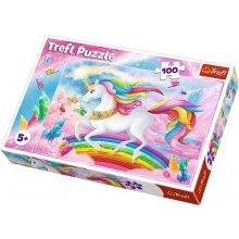 TREFL Puzzle 100 pcs - Unicorns world