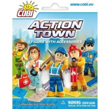 Cobi Klocki Town Action figure with...