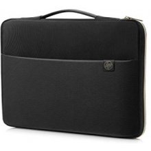 HP 15 Blk/Gold Carry Sleeve
