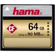 Флешка Hama HighSpeed Gold CompactFlash 64GB