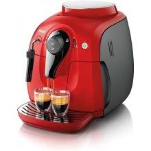 Philips Espressomasin Xsmall, красный