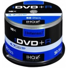 Диски INTENSO DVD+R [ cake box 50 | 4.7GB |...