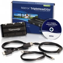 MATROX TripleHead2Go Digital SE, DVI, Black...