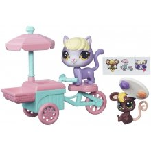 HASBRO LPS pets vehicles, car