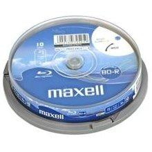 Диски Maxell BD-R 25 GB PRINT 4x CAKE 10 pcs
