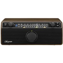 Raadio Sangean Radio WR-12 BT Wood Desktop...
