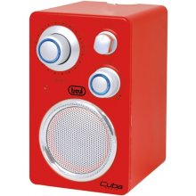 Радио TREVI RADIO RETRO RA742T красный