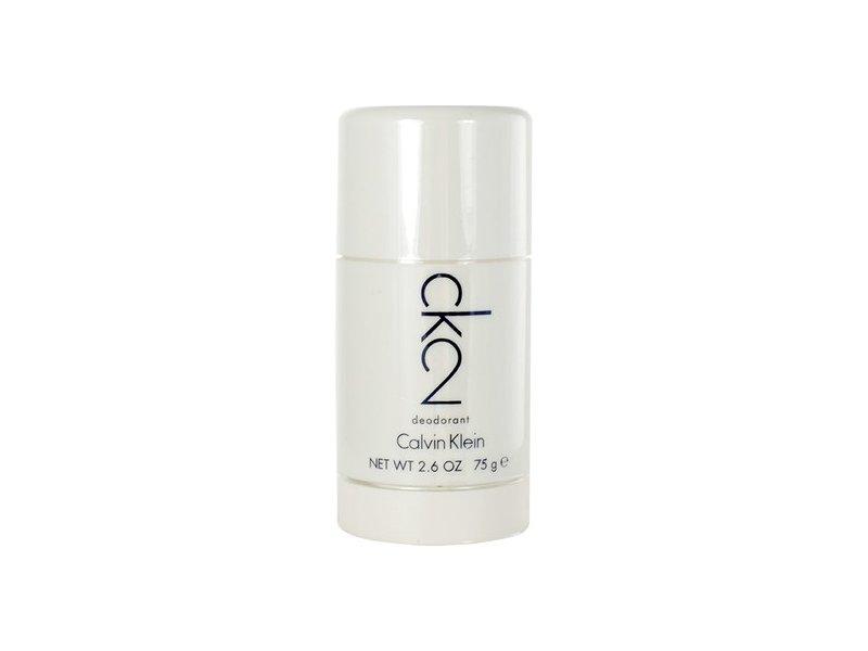 Calvin Klein CK2 75ml - Deodorant unisex Aluminium Free, Deostick
