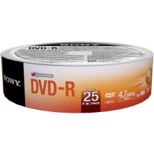 Toorikud Sony DVD-R 16x, 25, 4.7, DVD-R...