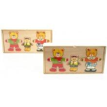 Brimarex Wooden puzzle, Bear с baby