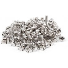 "Lanberg mounting screws set 50 pcs 19"" black"