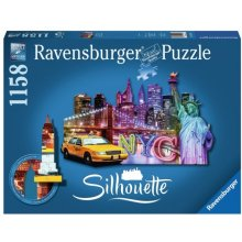RAVENSBURGER RAVEN. 1158 EL. New York...