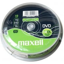 Diskid Maxell DVD+R 8,5 GB 8x DOUBLE LAYER...