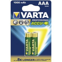 VARTA 1x2 Rechargeable Accu AAA Ready2Use...