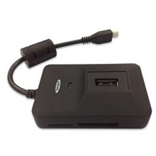 Ednet OTG USB 2.0 Hub и Kartenlese