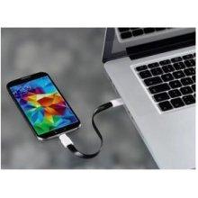 Hama 124547 Lade-Sync-Kabel Magnet USB2.0...