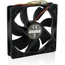 4World GPU/VGA Fan 40x40x10mm, 3-pin, sleeve...