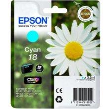 Тонер Epson чернила T1802 голубой | 3,3 ml |...