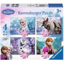RAVENSBURGER 4w1 Frozen