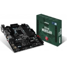 Emaplaat MSI Z170M MORTAR, Z170...