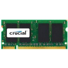 Mälu Crucial 2 GB, DDR2, 200-pin SO-DIMM...