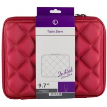 "4World Quilted tahvelarvuti Case 9.7"" Red"
