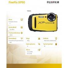 Fotokaamera FUJIFILM XP90 kollane