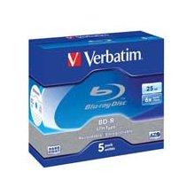 Диски Verbatim BD-R LTH 25GB 6X