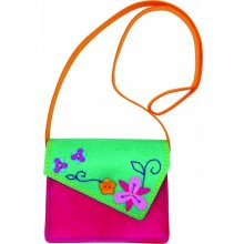 Stnux Fuchsia envelope handbag