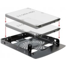 "Delock Installation raam 3.5"" to 2x2.5"" HDD"