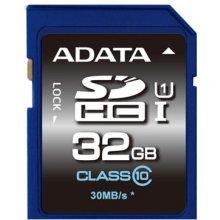 Флешка ADATA SDHC (UHS-I Class 10) 32GB