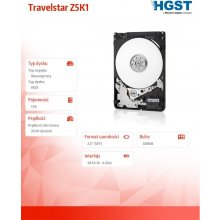 Жёсткий диск HGST HDD | | Travelstar Z5K1 |...