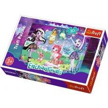 TREFL Puzzle 30 pcs - Enchantimals, The...
