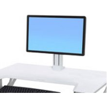 Ergotron WORKFIT SINGLE LD monitor KIT
