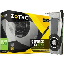 Видеокарта ZOTAC GeForce GTX 1070 Founders...