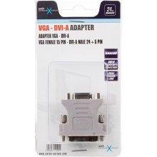 Natec adapter DVI-A(M)(24+5) DUAL...