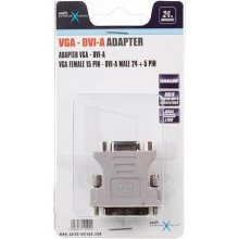 Natec адаптер DVI-A(M)(24+5) DUAL...