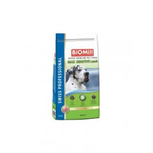 BioMill Maxi Adult Sensitive lambaga 12kg