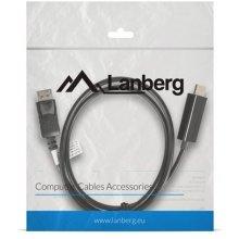 Lanberg cable kuvar Port(M)->HDMI 1m black
