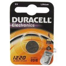 DURACELL Batterie Knopfzelle CR1220 3.0V...