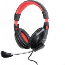 TRACER kõrvaklapid z mikrofonem DIZZY punane
