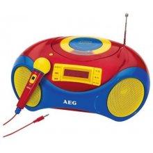 Raadio AEG SR 4363 punane / bunt