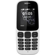 Мобильный телефон NOKIA 105 (2017) белый...