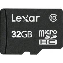 Mälukaart Lexar microSDHC-Karte 32GB mit...