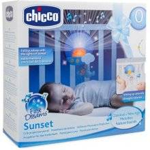 CHICCO Panel on cot sunset blue