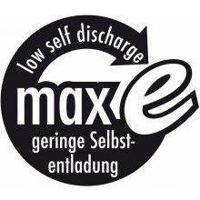 Ansmann 1x2 maxE NiMH Mignong rech. bat. AA...
