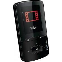 Philips SA4VBE04KF, MP4, Black, Digital...