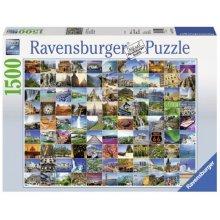 RAVENSBURGER RAVEN. 1500 EL. 99 piękn ych...