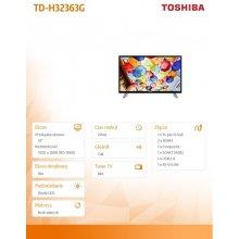 "Monitor TOSHIBA TD-H32363G 32"" Hotel TV"